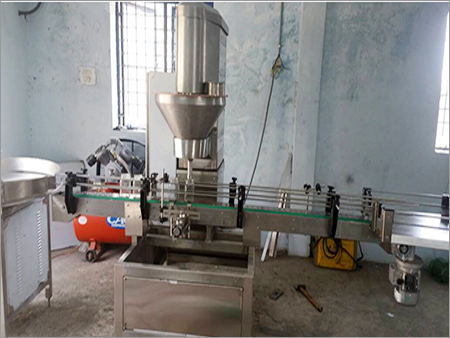 Automatice Powder Bottle Filling Machine