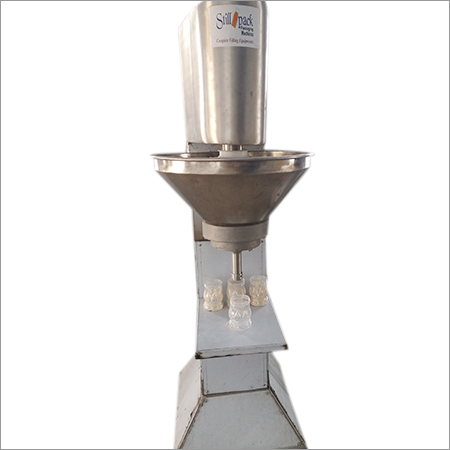 Powder Bottle Filling Machine