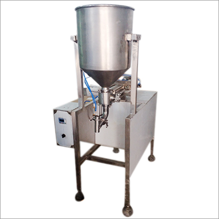 Semi Garlic Pickel Filling  Machine
