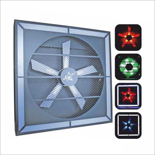 LED Fan Background Effect