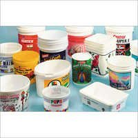Buckets Pails Tubs Printing