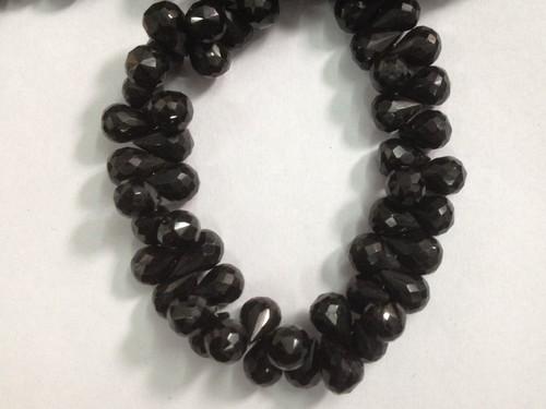Black Spinel Faceted Drops