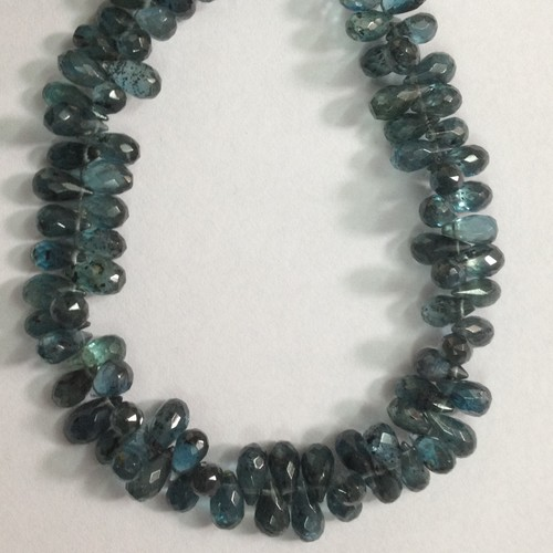 Green Kynite Faceted Drops