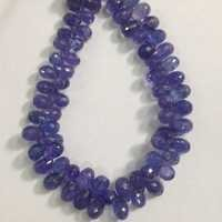 Tanzanite Faceted Drops