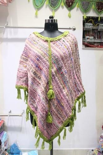 Woolen Ladies Poncho