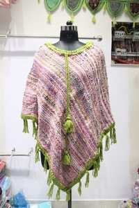 Woolen Ladies Poncho