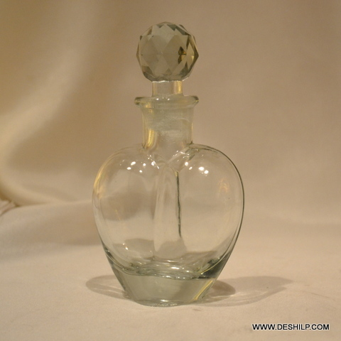 GLASS PERFUME BOTTLE AND DECANTER, REED DIFFUSER