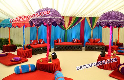 Rajasthani Umbrella Sangeet Stage