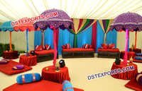 Rajasthani Umbrella Sangeet Stage
