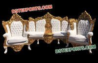 Hand Carved Designer Sofa set