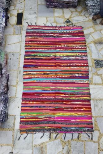 Multi Colour Cotton Carpet/ Cotton Chindi Rugs