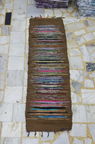 Multi Cotton Dari patti/ Cotton Chindi Rugs