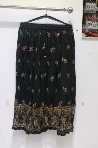 Cotton Crepe Elastic Skirt