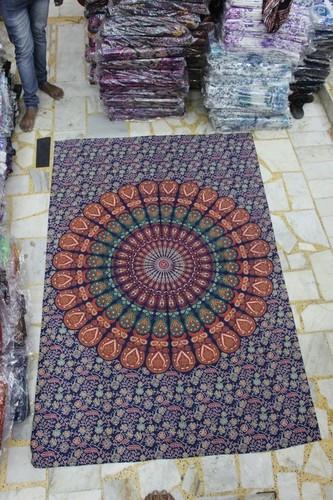 Mandala Wall Hanging Tapestry/ Single Bed Sheet