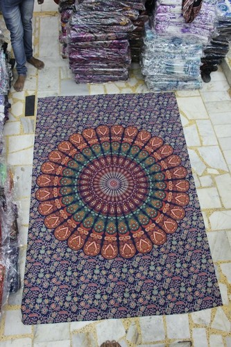 Mandala Wall Hanging Tapestry/ Single Bed Sheet