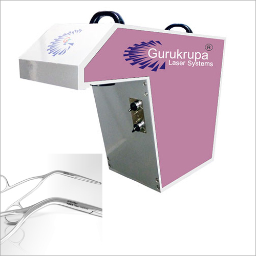 Laser Surgical Parts Marking Machine
