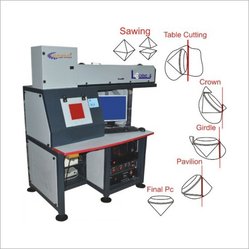 Laser Diamond Sawing Machine