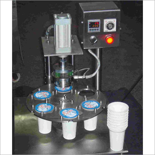 Semi-automatic Cup sealing machine (pnuematic)