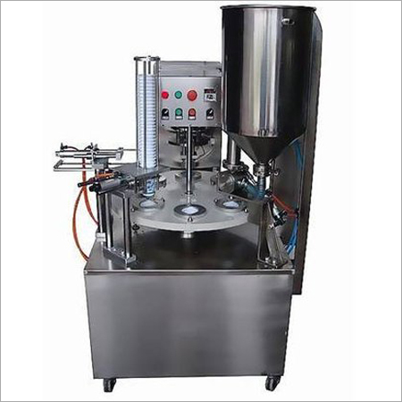 Semi-automatic Cup sealing machine (Rotary)