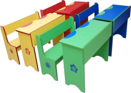 Color School Bench