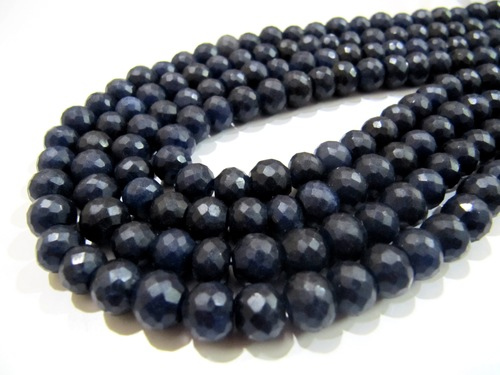 Dyed Sapphire Beads