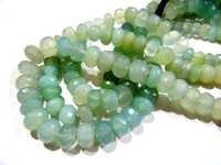 Aqua Chalcedony Beads