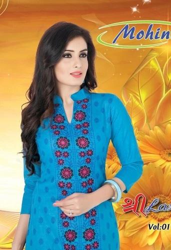 Mohini Cotton Printed Dress Material