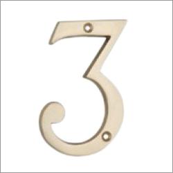 Brass Numerals & Alphabets