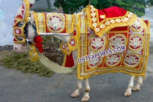 Hindu Wedding Horse Costume