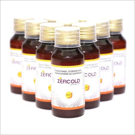 Cetirizine Paracetamol Phenylephrine Syrup