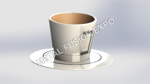 wing coffee cup & plate