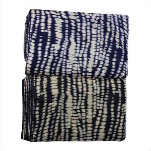 Rayon Modal Shibori Discharge Print Textile Fabric