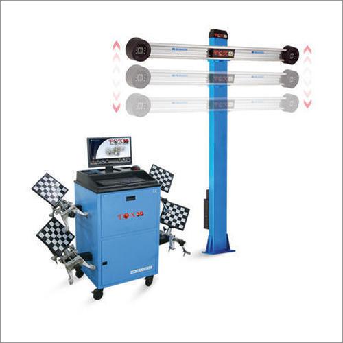 Digital Wheel Alignment Machine