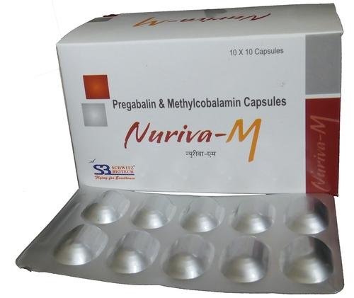 pregabalin 75 mg methylcobalamin 750 mcg capsules