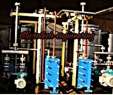 PLATE HEAT EXCHANGER HOT WATER SYSTEM