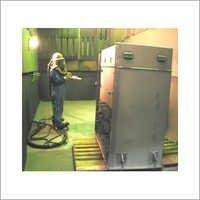 Business Machine Powder Coating