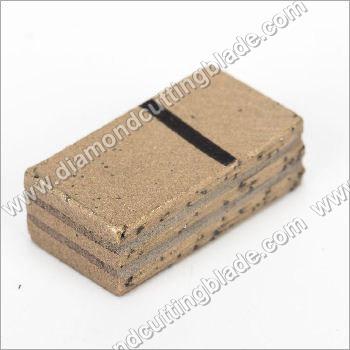 Sandwich Diamond Segment For Granite Block Cutting