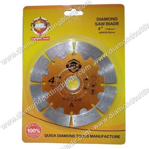 4 Inch Premium Diamond Circular Saw Blade