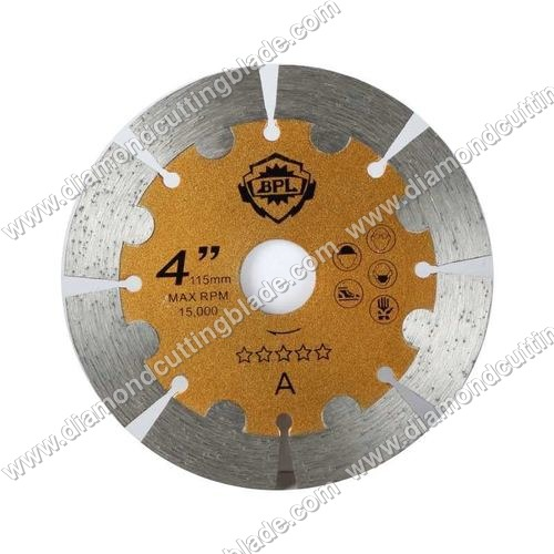 Horizontal Cutting Diamond Blade For Marble