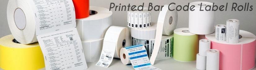 Printed Bar Code Labels