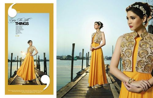 Latest Gown Designs Latest Gown Designs Exporter Supplier