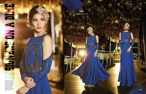 Fancy Sholder Off Designer Gown