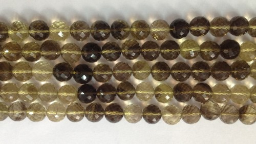 Bio Lemon Faceted Round