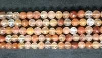 Copper Rutiled Faceted Round