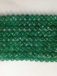 Green Onyx Round Faceted