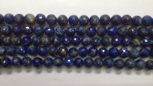 Lapis Round Faceted
