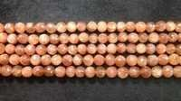 Sunstone Round Faceted