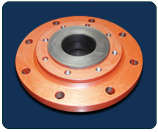 HDPE LINED REDUCING FLANGE