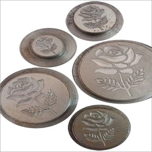 Silver & Gold Coin Printing Dies