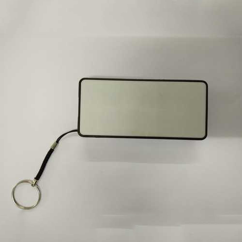 Portable White 4400 mAh Power Bank